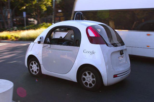 google-car-london