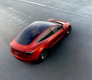 Tesla Model 3 erste Bilder