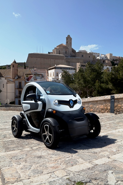 renault twizy bilder preis reichweite und tests. Black Bedroom Furniture Sets. Home Design Ideas