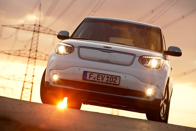 kia soul ev bilder preis reichweite und tests energyload. Black Bedroom Furniture Sets. Home Design Ideas