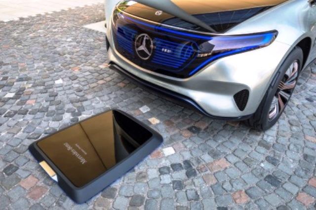 elektroauto-induktionsladung