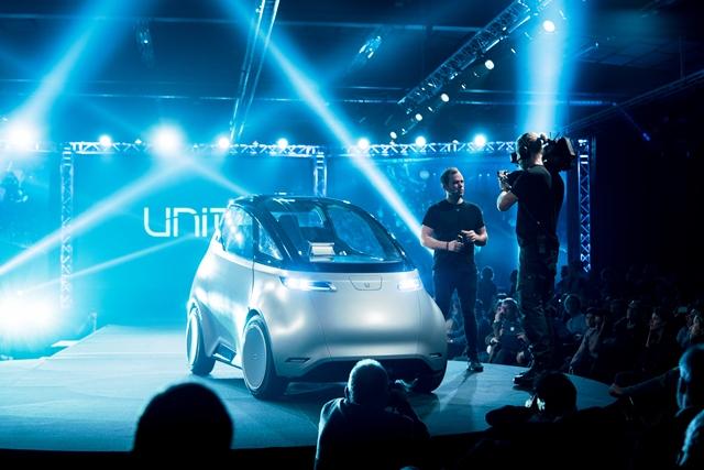 uniti-elektrofahrzeug