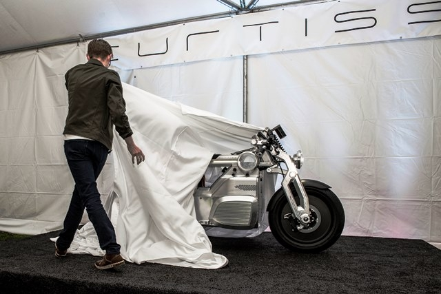 Curtiss-Zeus-Elektromotorrad
