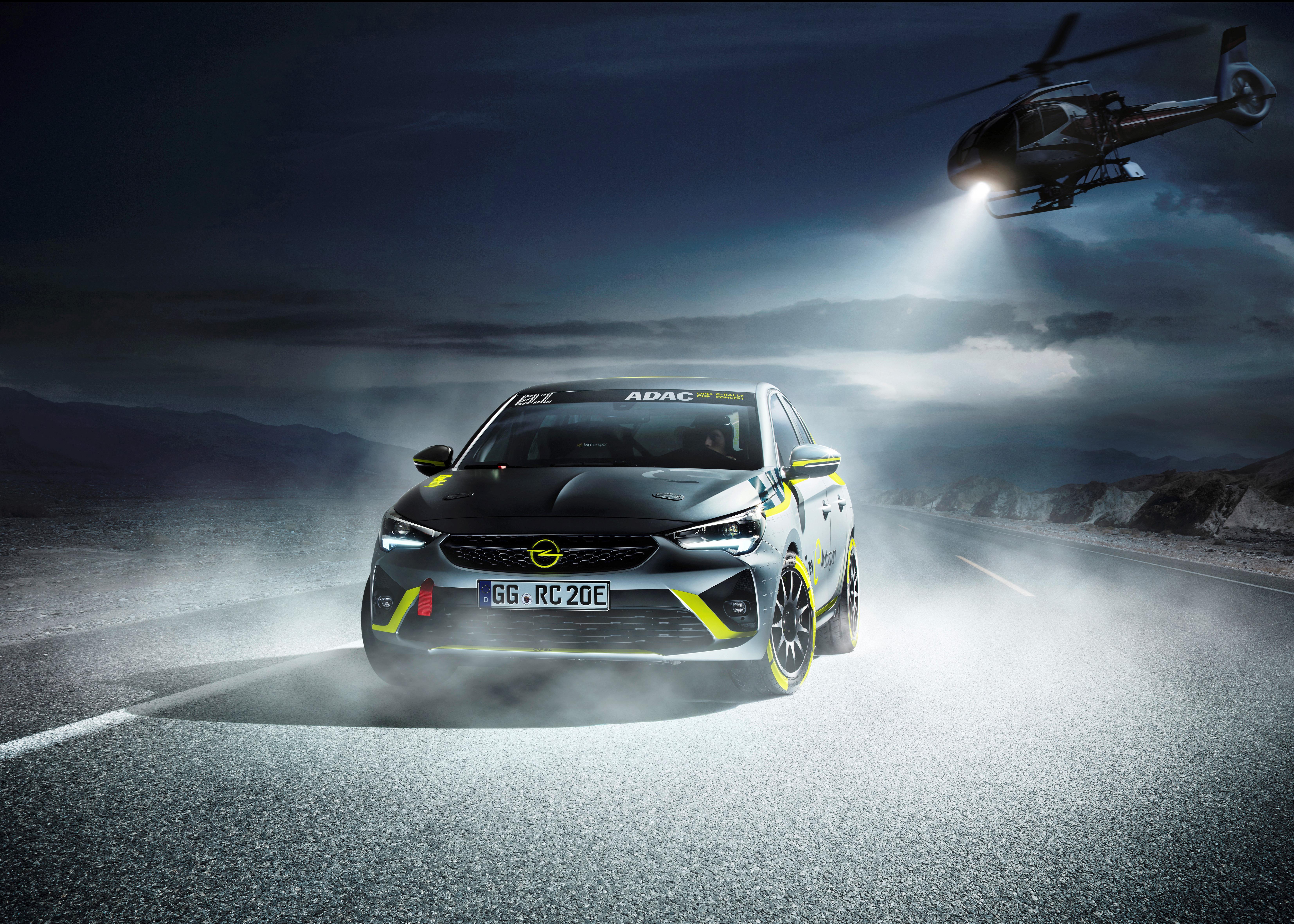Opel-Corsa-Elektrofahrzeug